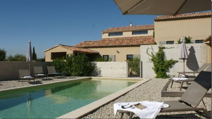 Bed-and-breakfast med pool i Vaucluse